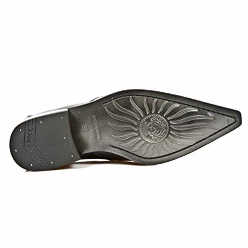 Chaussures de Ville Newman Noires M.2246-S20 - 44, Noir