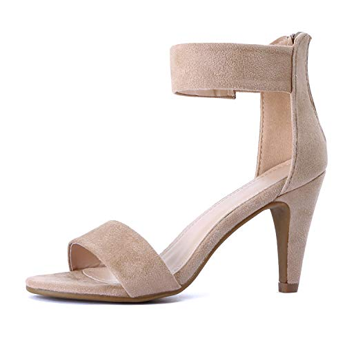 Guilty Shoes - Elysa-1 Taupe Suede, 10