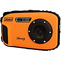 Coleman C9WP-O 20 MP Waterproof Digital Camera with Full 1080p HD Video (Orange)