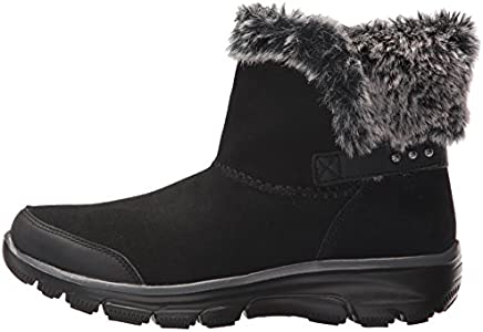Skechers Womens 49475 Black Snow BOOTS Size 9