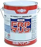 ニッペ 船舶用 上部構造物用 上塗り塗料 FRPマリン 4kg ホワイト