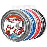 MAYKA 8302M1 Toy Block Tape (4-pack) - 2 stud, 6.5 ft,non-marking