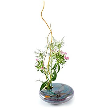 Amazon Com Georgetown Pottery Round Ikebana Flower Vase