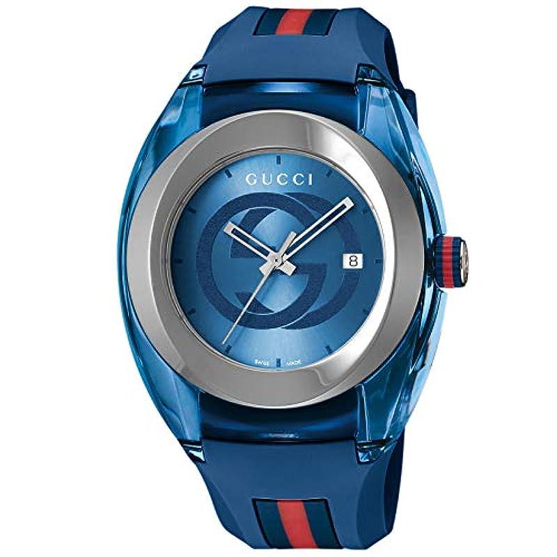 [구찌] 손목시계 SYNC YA137104A 맨즈 병행수입품 블루