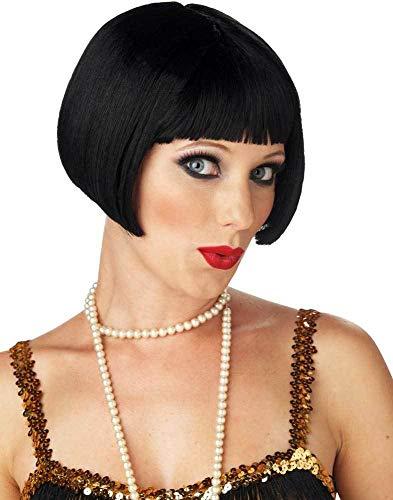 ESSA OAT clothes series Sexy Adult Women Flirty Flapper Halloween Wig ()