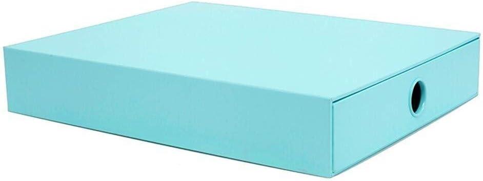 LXCS Caja de Archivos de Office, Carpeta de Bastidor de revistas Administrador de Carpetas de Almacenamiento de Archivos A4 Caja de Archivo de Datos de Moda Creativa Caja de comprobantes Contables: Amazon.es: