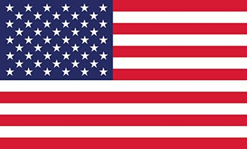 American Flag Decal Window Clings – Vinyl Car Decals – Non Adhesive Stickers (3″ x 5″) Ideal for Home, Vehicles, Trucks, RV, Jeep Windshields and Rear Windows 3 pack