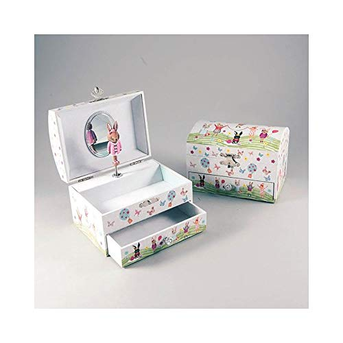 Bunny Musical Jewellry Box with Drawer