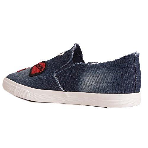 Donna Primtex Marine Sneaker 2025 Bleu B1xwqR1Egr