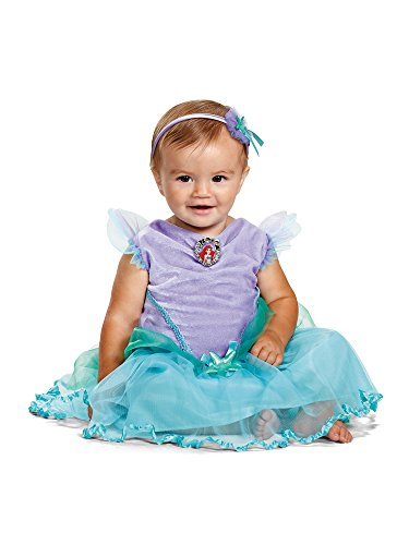 Disney Baby Girls' Ariel Infant Costume, Turquoise, 12 to 18 Months