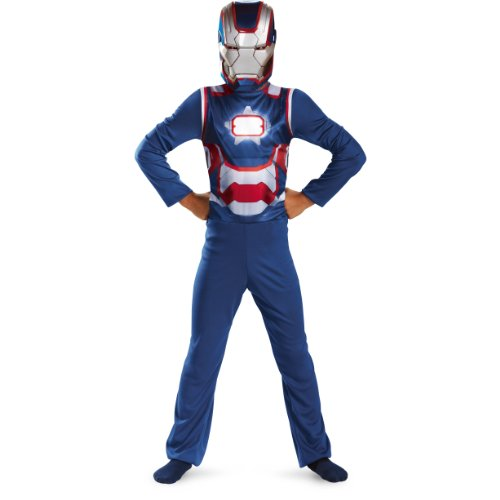 Patriot Boy Kids Costumes (Disguise Boy's Iron Patriot Costume)