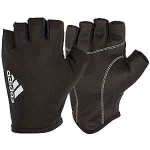 Adidas Unisex Weightlifting Gloves, Black, Small