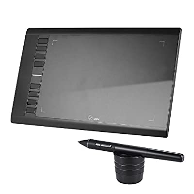 "Ugee M708 Ultra-thin Draw Digital Graphics Drawing Painting Tablet Pad 10"" 6"" Active Area 2048 Level Pressure Sensitivity"