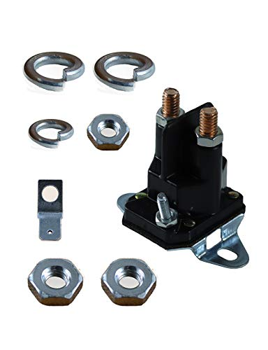 POSEAGLE 33-330 3 Pole Universal Solenoid Replaces 725-0426,725-0530,725-0771,925-0530,925-0771,725-1426,925-1426,925-1426A,AM103290,21261,24285,424285,7701100MA,924285,33-330 and Many Other Brands
