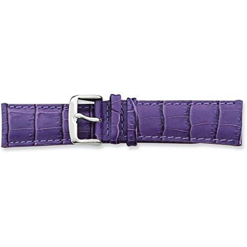 de-beer-purple-crocodile-grain-leather-watch-band-22mm-long-silver-color