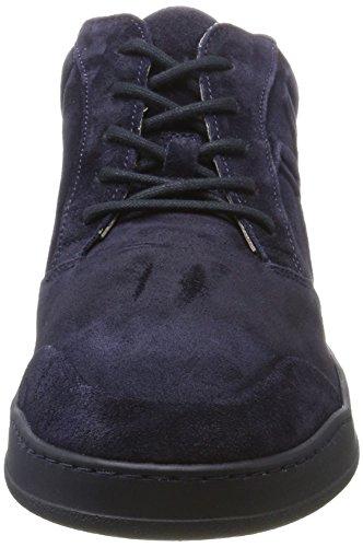 Collo navy A 70824093502305 O'polo Uomo Sneaker Alto Blu Marc IqAgwg
