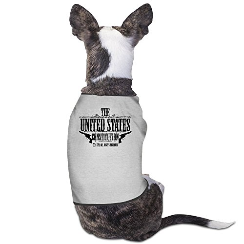 Theming The United States Constitution - All Rights Reserved Dog Vest ()
