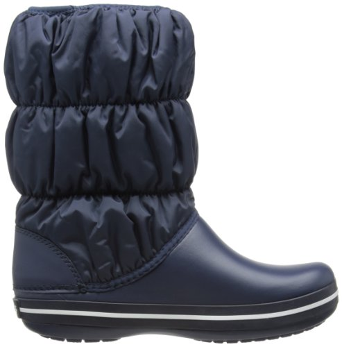 Winter Navy Puff Crocs Snow Blue Women Boots Navy zwBnaRAB