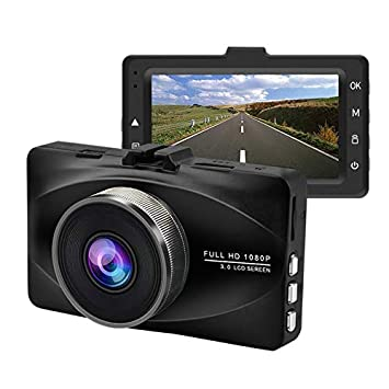 Dash cam,Dash Camera for Cars, Free 32GB Memory Card,1080P, Dashboard,170 Wide Angle,3 Screen,Loop Recording,HD Night Vision,Motion Detection,G-Sensor,Parking Monitoring,Metal Fuselage
