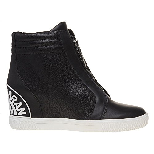 Dkny Connie Slip On Wedge Womens Sneakers Black suZTh
