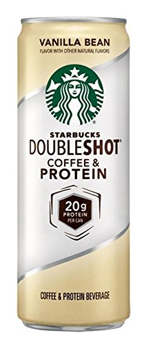 6 Pack - Starbucks Doubleshot Coffee and Protein - Vanilla Bean - 12oz + Energy Drink Outlet - Shopping Hawaii Outlets In