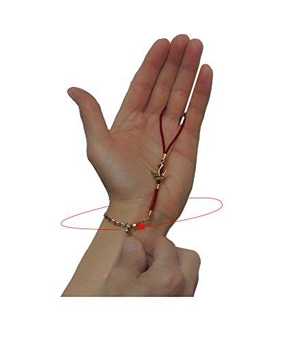 Bracelet helper fastener - Graceful Butterfly in Silver and Black by Bracelet Magic by Bracelet Magic (Image #2)