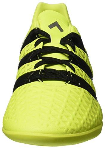 adidas Ace 16.3 In, Botas de Fútbol para Hombre Amarillo (Amasol / Negbas / Plamet)