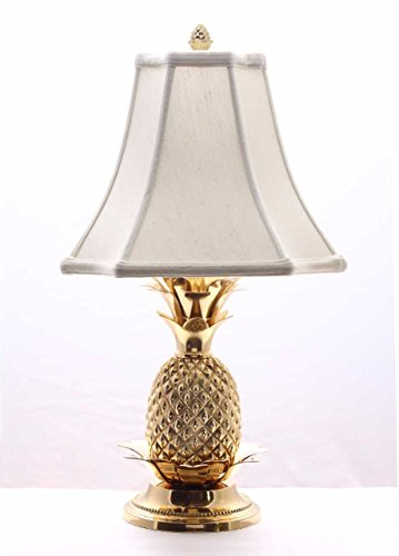 Brass White Shade Pineapple - Table Lamps for Living Room Desk Lamp Bedroom Lamps 22