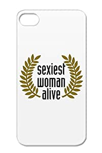 TPU Brown For Iphone 4s Love Women Sexy Woman Hot Sexiest Alive Award Winning Protective Case