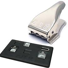 MOSTOP(TM) Universal 3 in 1 Sim - Micro Sim - Nano Sim Card Cutter Punch For iPhone 6 6s 5S 5C 5 4S 4 Samsung LG HTC SONY Phones