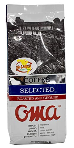 OMA Cafe Selected Roasted and Ground Coffee 12 ounces 340 grams