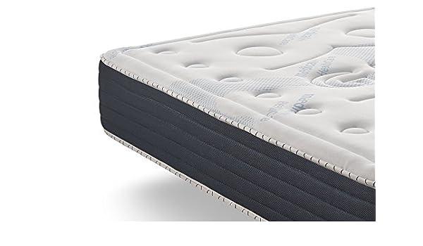 Naturalex Colchón Comfort Spa | Blue Latex 105 x 190 cm | 26cm de Profunidad | Dos Caras (invierno/verano) Reversible | 7 Zonas de Confort: Amazon.es: Hogar