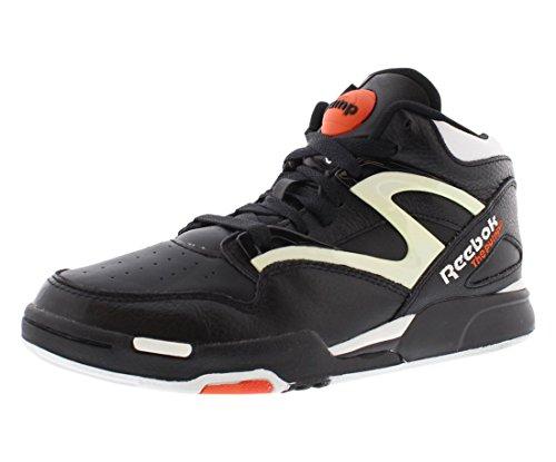 f7a2a06ede Reebok Pump Omni Lite Shoes - Black/White/Varsity Orange - - Import ...