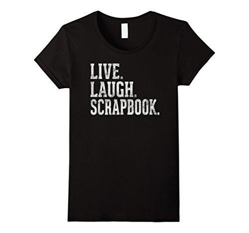 Womens Scrapbook Love T-shirt - 5