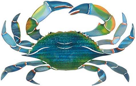 Next Innovations WA3DMEBLUECRAB CB Crab Refraxions 3D Wall Art