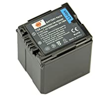 DSTE® VW-VBG260 Replacement Li-ion Battery for Panasonic AG-AF100 AG-HMC150 HDC-HS300 700 HDC-SD700 T750 HDC-TM300 700 SDR-H80 Camera