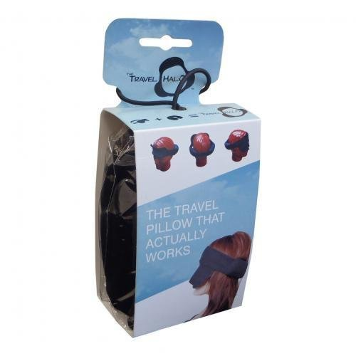 Travel Halo, Head Rest & Sleep Mask All In One by The Travel Halo