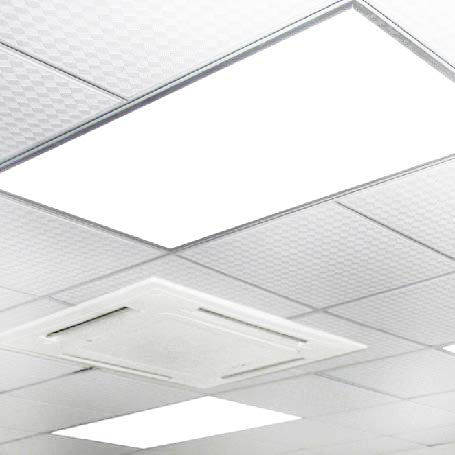 LED Panel Light,2x4 FT,2 Pack,0-10V Dimmable,ETL Listed,60W with 7800 Lumens 5000K Daylight White Color, Drop Ceiling Flat LED Light Panel,Recessed Edge-Lit Troffer Fixture by WYZM (Image #5)