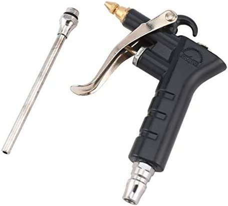 Tivollyff 金属アルミニウム高圧洗浄機空気式空気吹きダストガン強風強力なエアダスター空気吹きガン