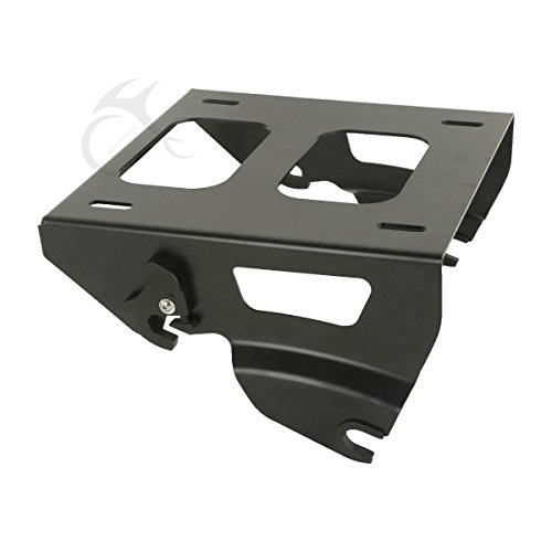 (TCMT Solo Tour Pak Luggage Rack Mount Fits For Harley Road King Street Glide 2014-2019 )