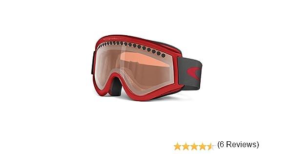 Amazon.com : Oakley E-Frame Snow Goggles, Snow Viper Red with ...