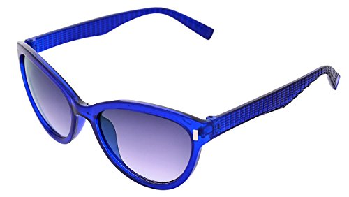 SHVAS UV Protection Cat Eye Womens Sunglasses [CATESTEEMBLU]