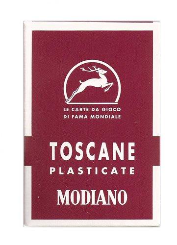 Toscana Italian - Tuscany 40 Italian Regional Playing Cards - Toscane 40 Carte de Gioco - Toscana 40 Barajas Italianas