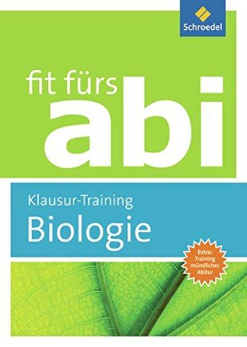 Fit Fürs Abi  Biologie Klausur Training