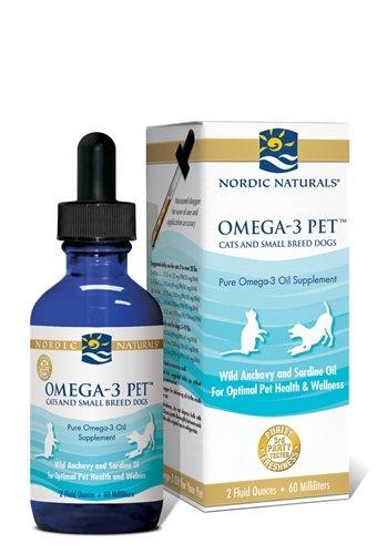 Omega-3 Pet Liquid - 2 ounce dropper