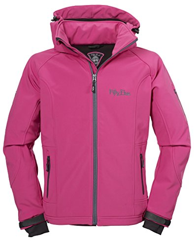 Fifty Five Damen Softshell-Jacke Merrit magenta/navy 52