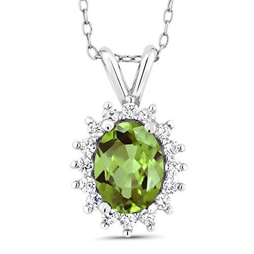 Green Peridot Pendant - 2