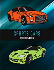 Sports Cars Coloring Book (Car Coloring Books)