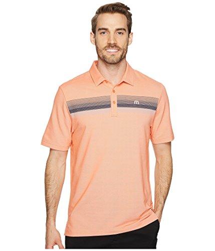Travis Mathew TravisMathew Mens Happy Jelly Polo Flamingo/Microchip XL One Size (Golf Travis Mathew)