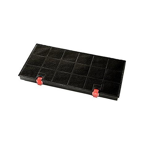 Negro, 435 mm Accesorio para chimenea Elica F00171//S accesorio para campana de estufa